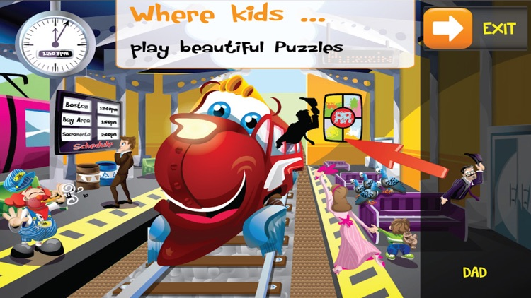 PUZZINGO Trains Puzzles Games