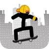 滑板火柴人-跳跃英雄达人