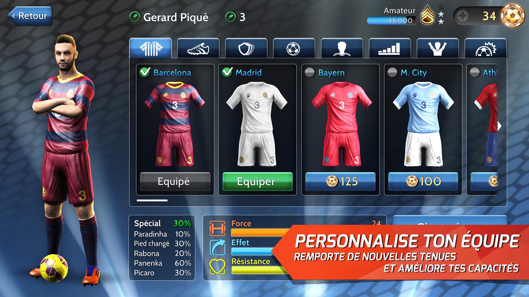Final KicK: Football onligne Screenshot