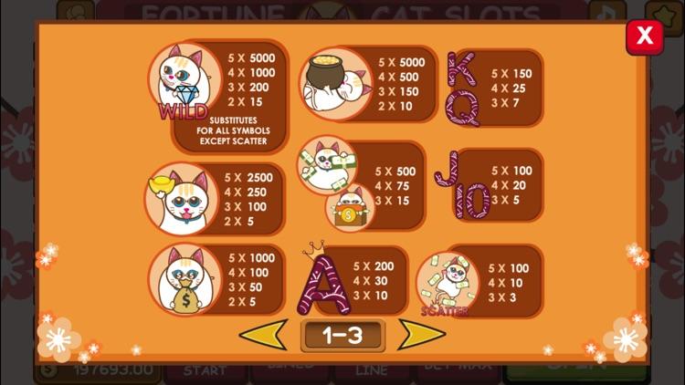 Fortune Cat MaoMao's Slots screenshot-3