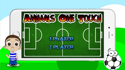 Animals One Touch Soccer Game screenshot one