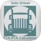 The Truckers Hours of Service Calculator and ETA Calculator is a time saver and can ACCURATELY calculate the total hours of service required for a load including the truckers driving hours, fuel stop hours, pre-trip hours, load and unload hours, post trip hours, rest hours, and calculate your earliest start time, your ETA, and your NAT or PTA so you can quickly respond to your dispatcher