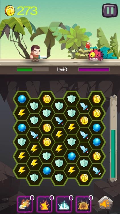 Hero Match 3 RPG screenshot-3