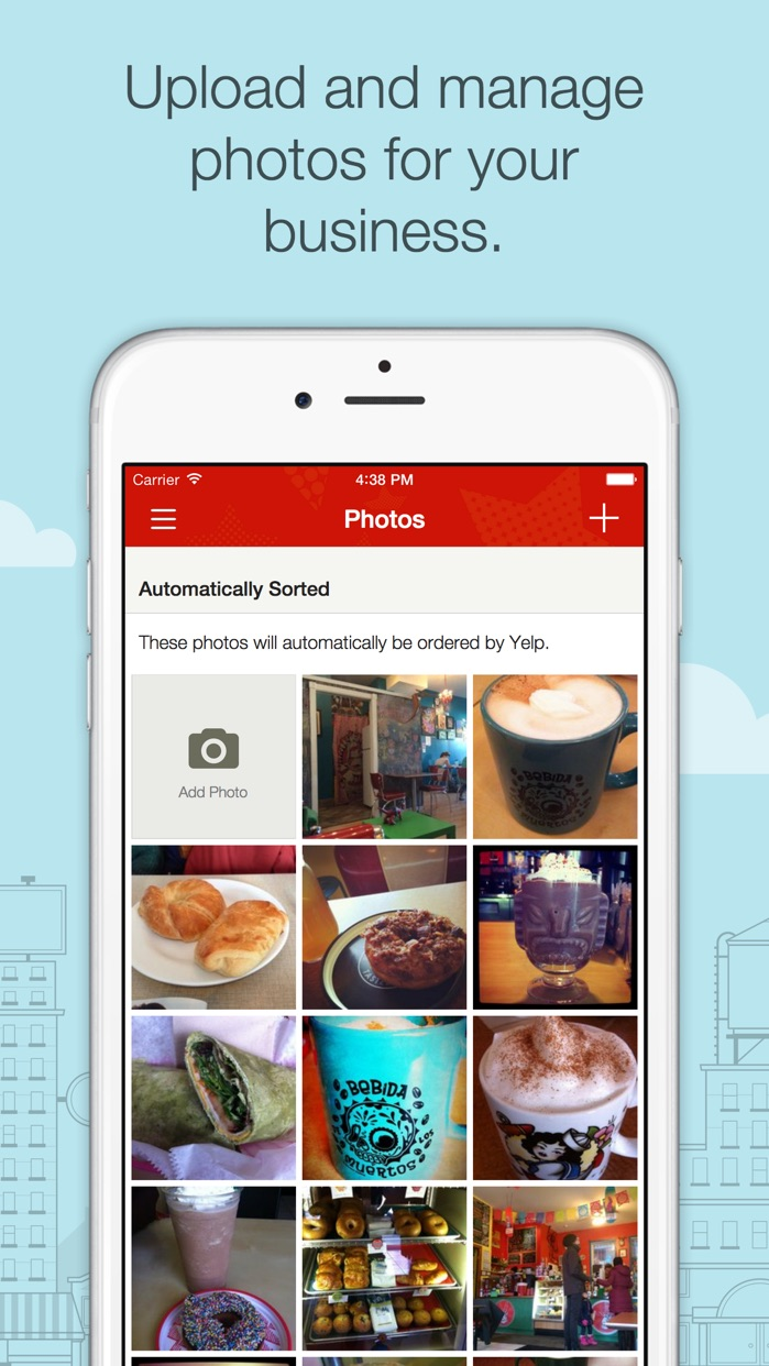 Yelp for Business Owners Screenshot