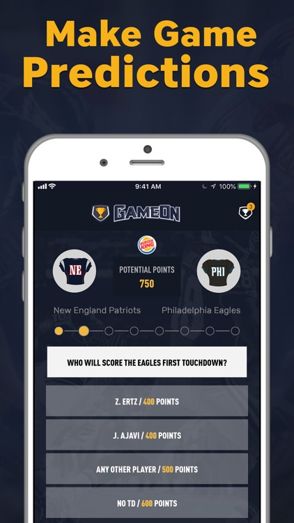 GameOn - Sports Betting