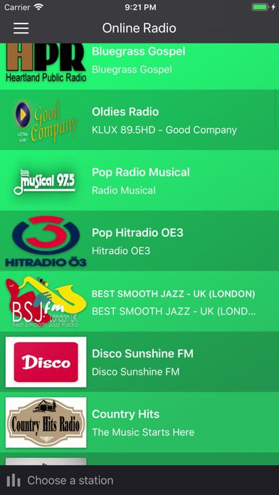 Online Radio Player by Andrej Hriciga (iOS, United States