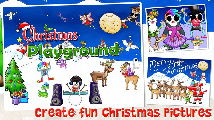 Christmas Playground Dress Up