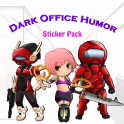 Dark Office Humor Stickers