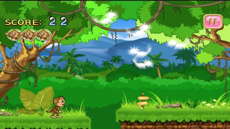 Baby Chimp Runner : Cute Game