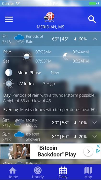 WTOK Weather screenshot-3