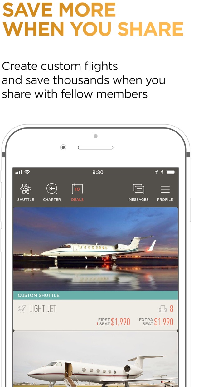 JetSmarter | Book Private Jets Screenshot