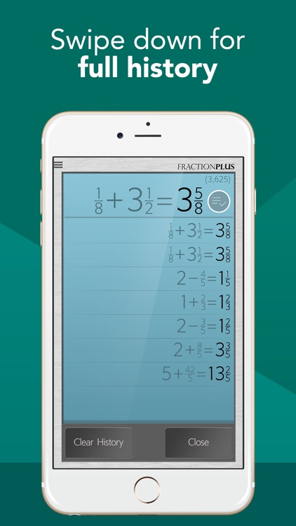 Fraction Calculator Plus screenshot-2