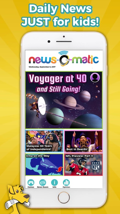Screenshot #1 pour News-O-Matic EDU
