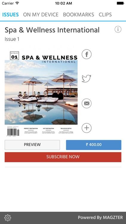 Spa & Wellness International