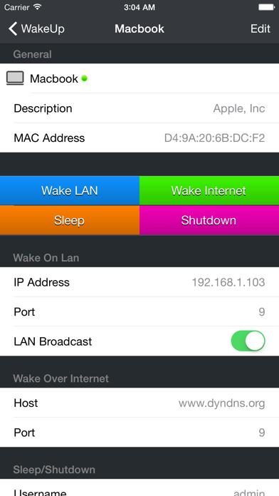 WakeUp - The Wake on LAN toolのおすすめ画像2
