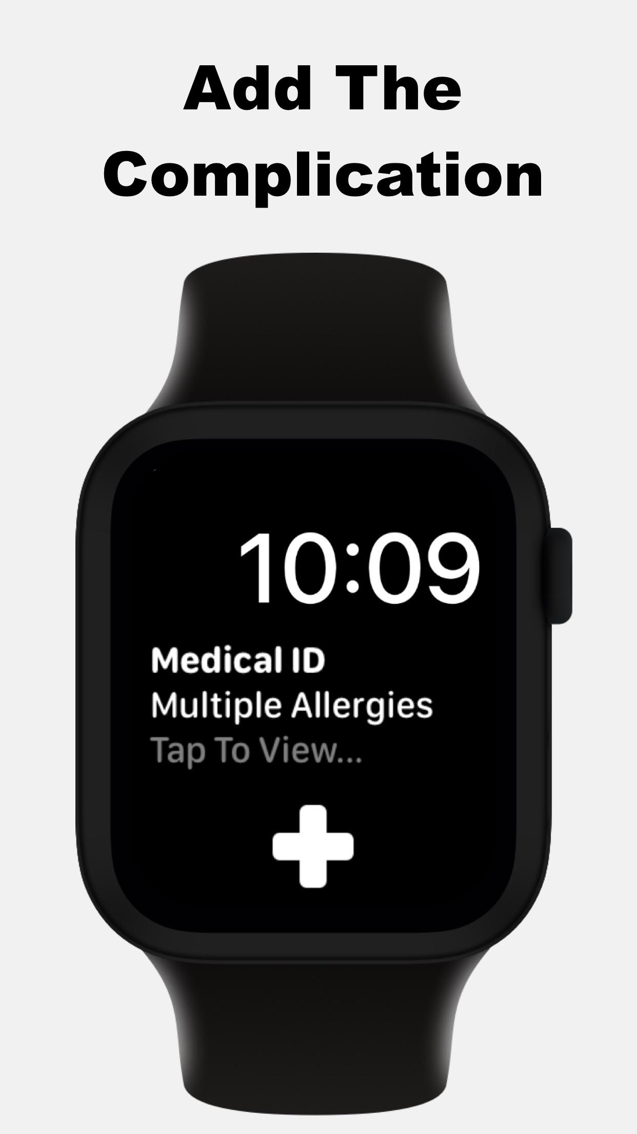 MediWear: Watch Medical ID Screenshot