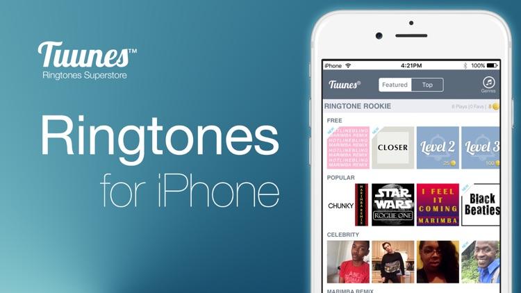 TUUNES™ Ringtones for iPhone screenshot-6