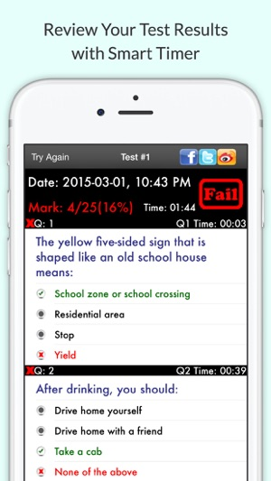Dmv hub permit practice test on the app store dmv hub permit practice test on the app store sciox Images
