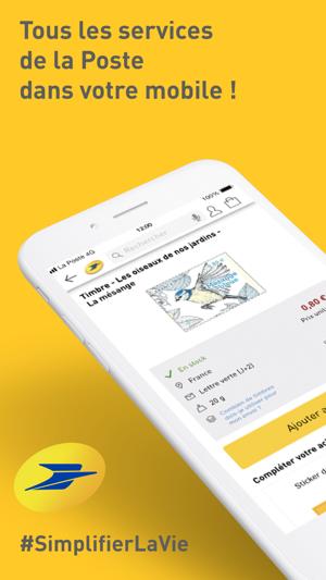 La Poste Services Postaux Dans L App Store