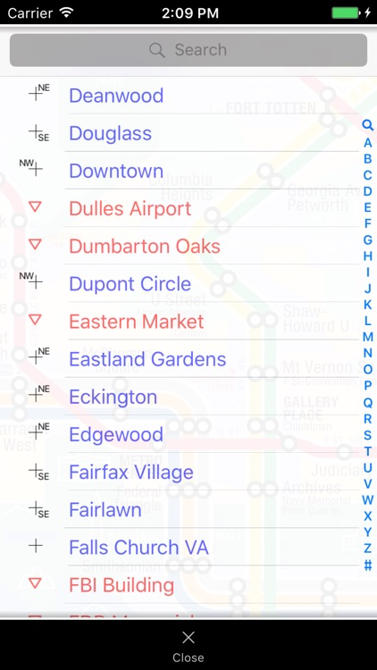 KickMap Washington DC Metro screenshot-3