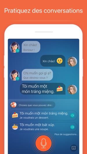 Apprendre le vietnamien dans l'App Store