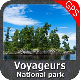 Voyageurs National Park - GPS Map Navigator