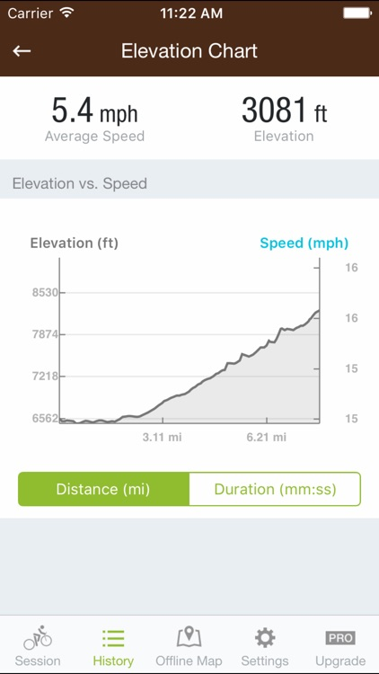 Runtastic Mountain Bike GPS screenshot-3