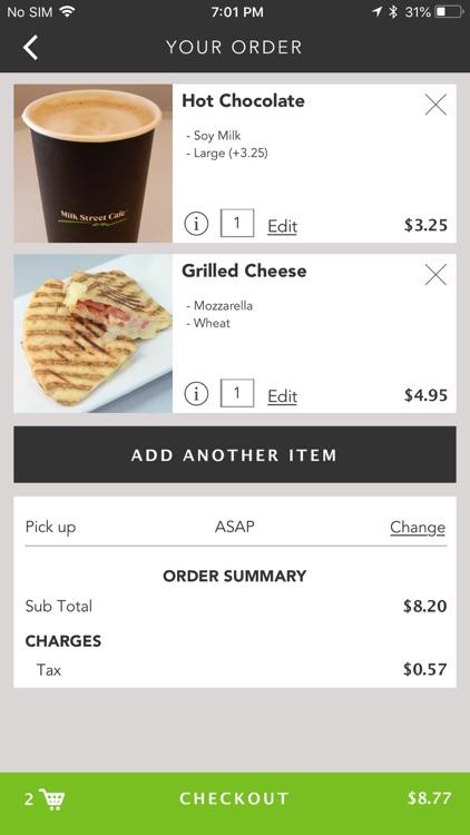 Milk Street Cafe screenshot-4