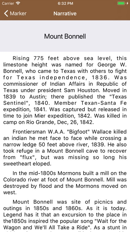 Texas Historical Marker Guide screenshot-1