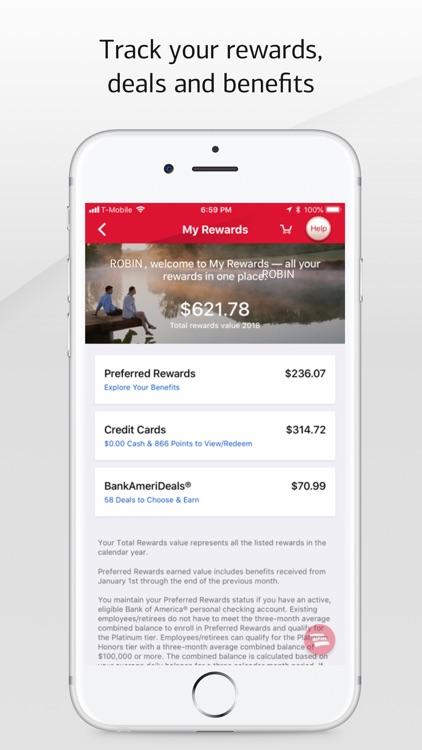 Bank of America Mobile Banking screenshot-3