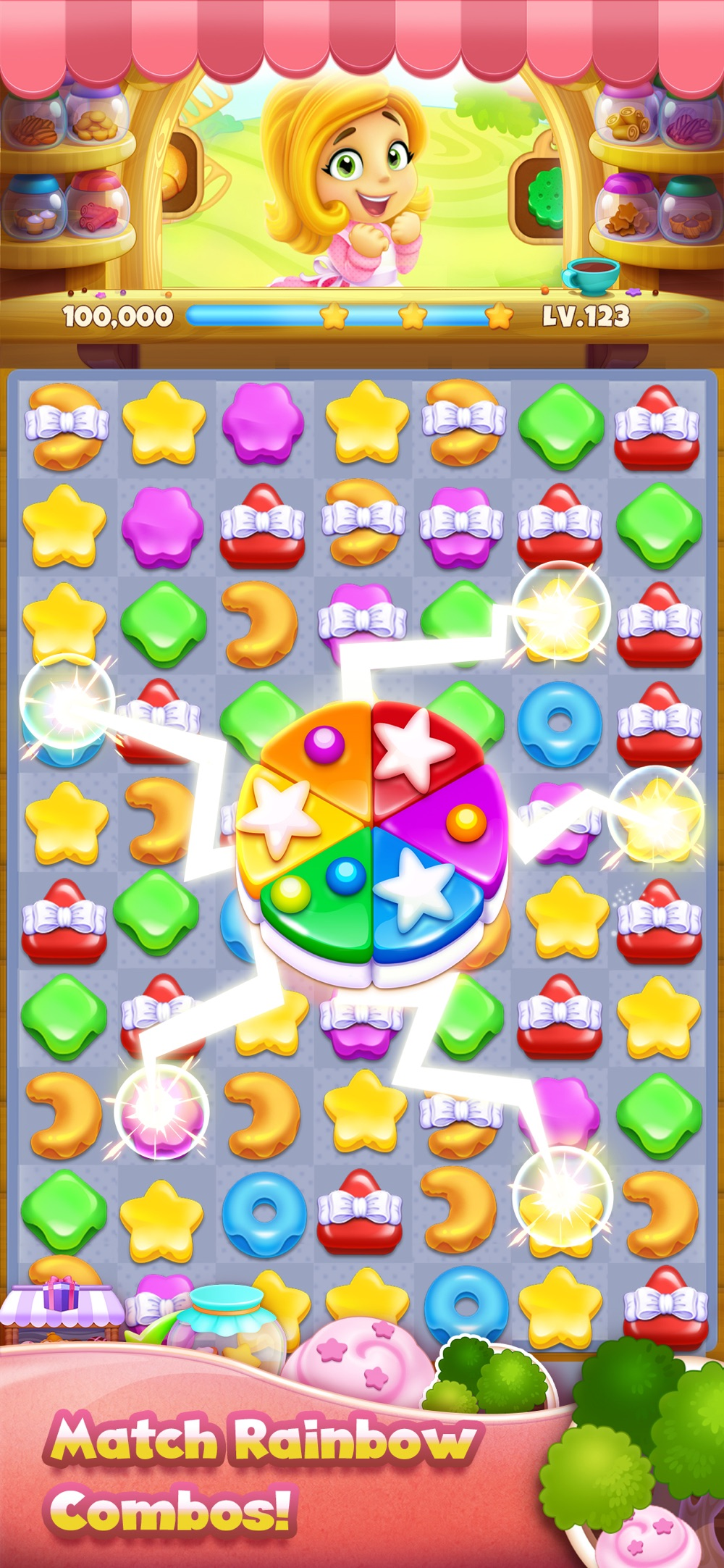 Cookie Yummy – Match 3 Puzzle Cheat Codes