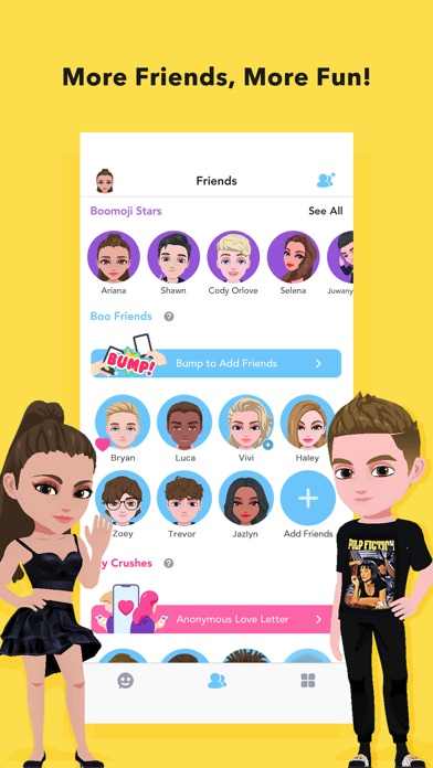Screenshot for Boomoji - Your 3D Avatar in United States App Store