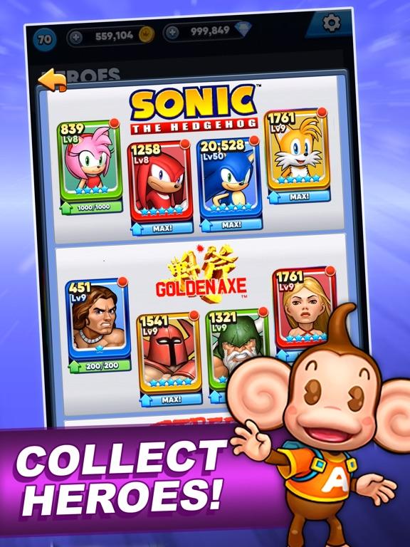SEGA Heroes: Match 3 RPG Game screenshot 12