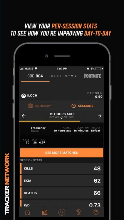 Tracker Network for COD BO4
