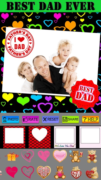 Father's Day Frames and Labels screenshot-4