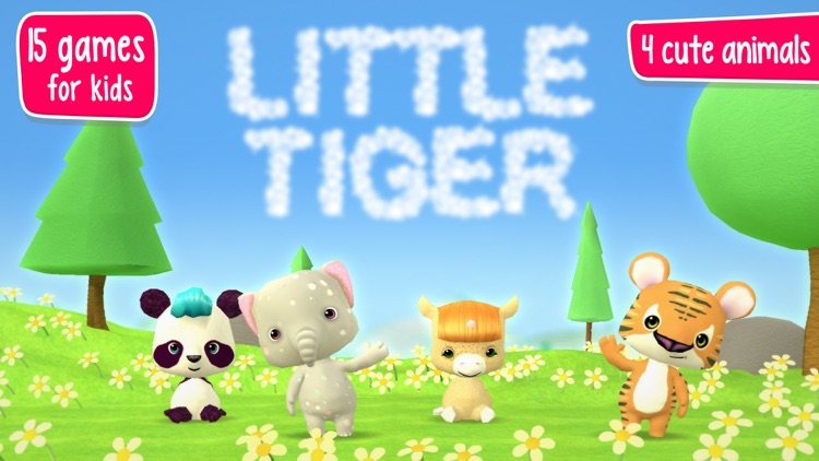 Little Tiger: Games for Kids screenshot-0