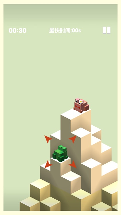 小青蛙爬山-益智游戏单机小游戏