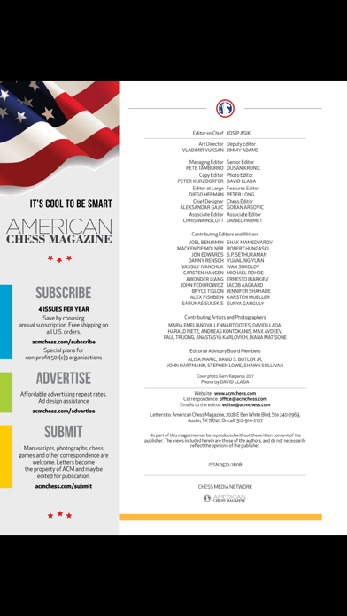 American Chess Magazine screenshot 2