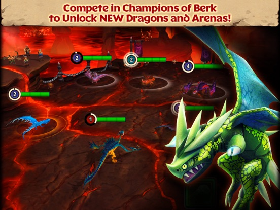 Dragons: Rise of Berk для iPad