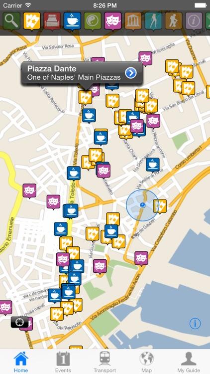 Naples Travel Guide Offline