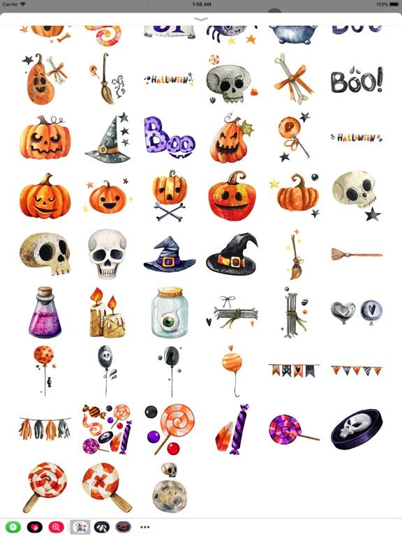 Nice Watercolor Halloween Pack screenshot 8