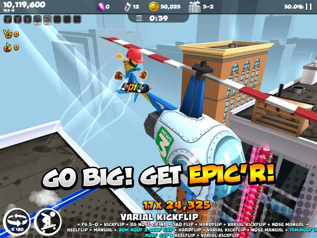 Epic Skater 2 - Online Game Hack and Cheat | TryCheat com