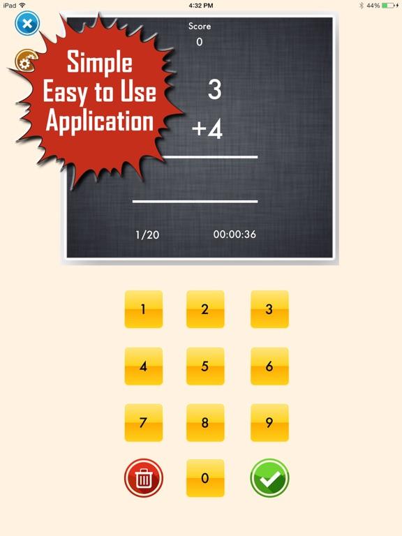 My Math App - Flashcards-ipad-1