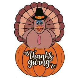 Thanksgiving Gratitude sticker