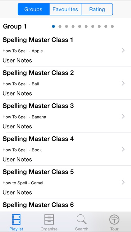 Spelling Master Class