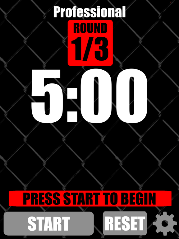 MMA Timer - Pro Mixed Martial Arts Round & Interval Timer screenshot