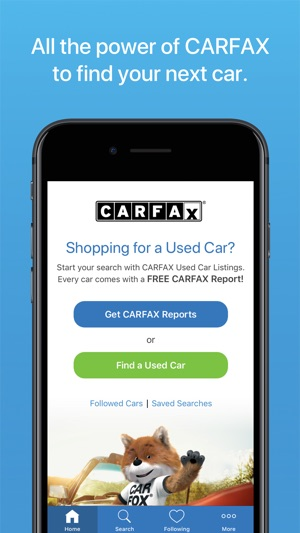 Carfax Find Used Cars For Sale En App Store