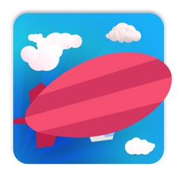 Lucky airship-funning game