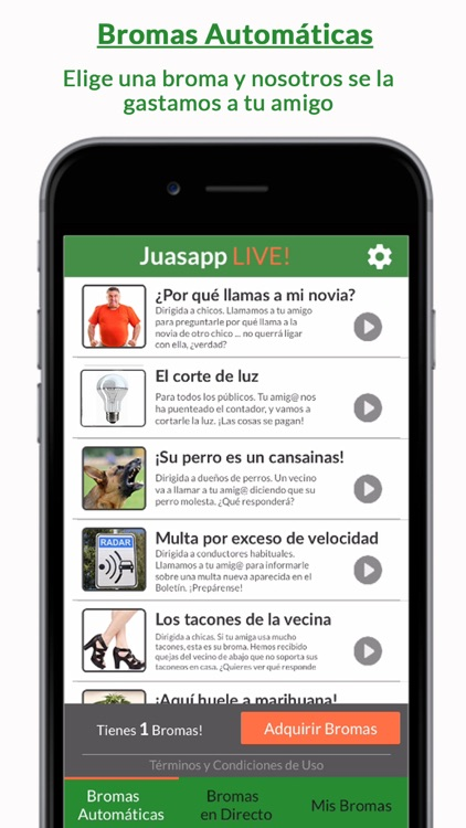 juasapp per iphone