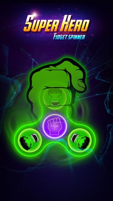 SuperHeroes Fidget Spinner screenshot #3